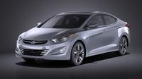 Hyundai Elantra Sedan 2016  VRAY