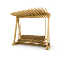 3d bench parks parametric