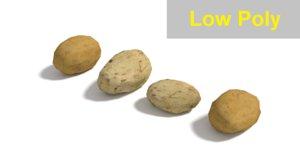 3ds potato realistic
