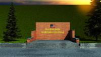 fallen memory soldiers 3d model