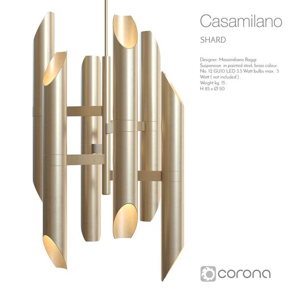 casamilano shard 3d model