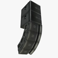 3d model jbl vrx