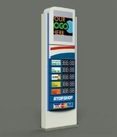 3d info station totem model