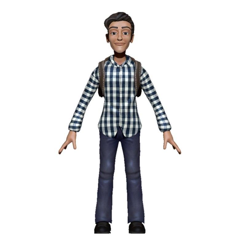 3d model cartoon gaming