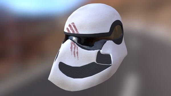 helmet stromtrooper 3d model