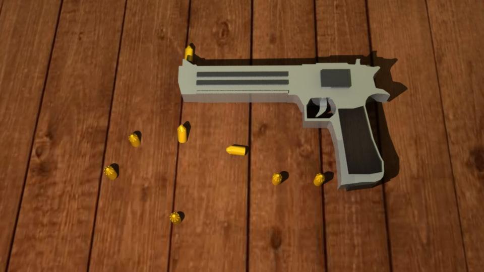 3d colt weapon model