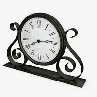 3ds old clock pbr
