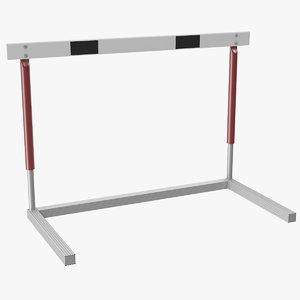 hurdle 3d model