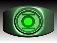 3d model green lantern ring