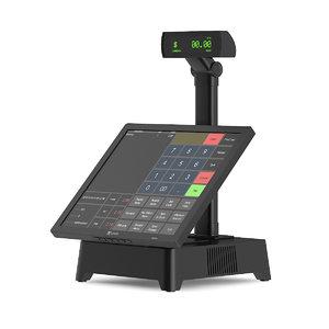 3d cash register touchscreen model
