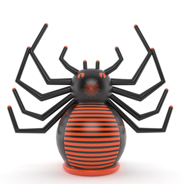 3d inflatable spider model