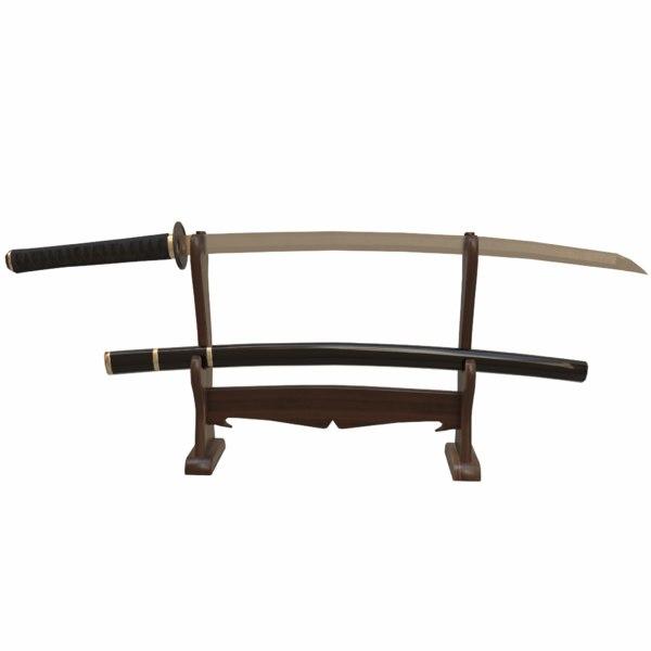 3ds katana sword