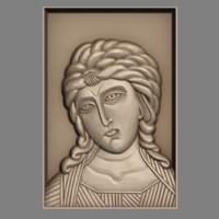 3d orthodox icon guardian angel model