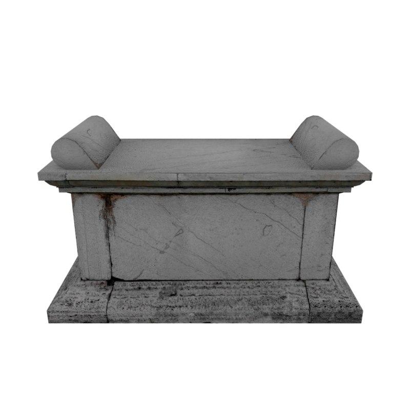 pedestal games renders 3d model