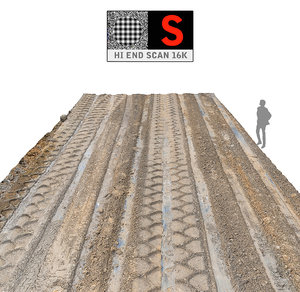 3d big track scan 16k model