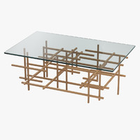 3d model of ralph pucci coffee table