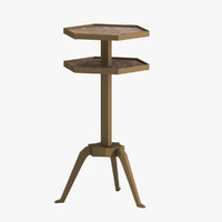 ramsa tripod table 3d max