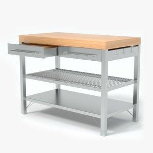 table kitchen obj