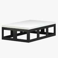 robert kuo coffee table 3d model