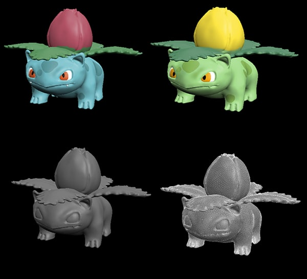 ivysaur 3d model