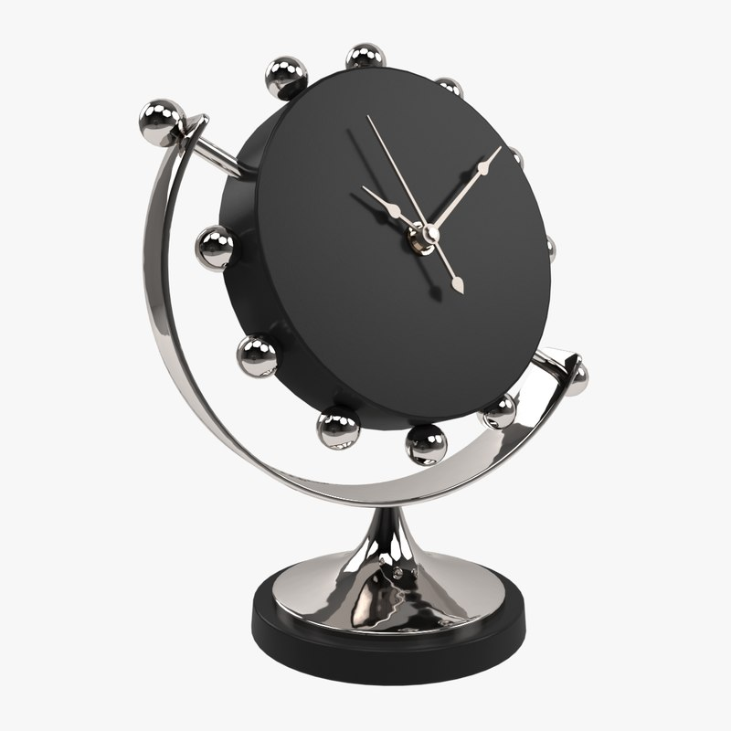 3ds global views axis clock