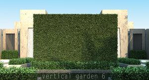 obj vertical garden