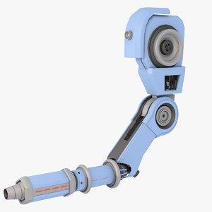 robot 11 - arm 3d max