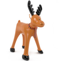 inflatable reindeer christmas 3d max
