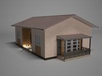 3d model house european