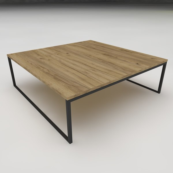 modern coffee table c4d free