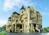 classic castle 3d model