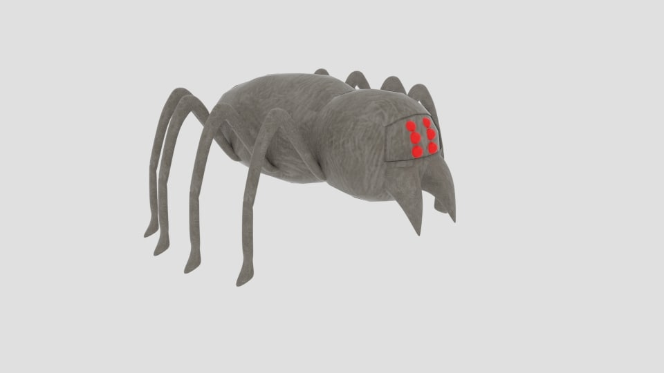 3ds monster spider crawl