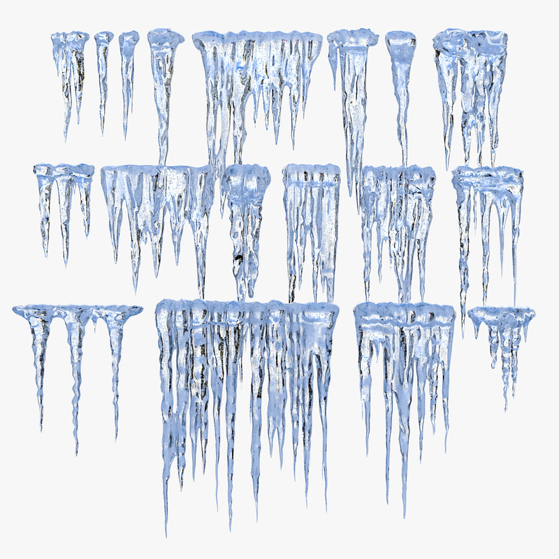 3d 3ds icicles