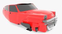 3d max 60 sci-fi roadster