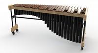 3d model music instrument
