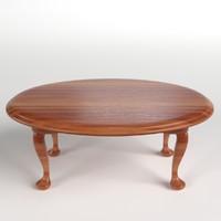 table desk 1 3d model