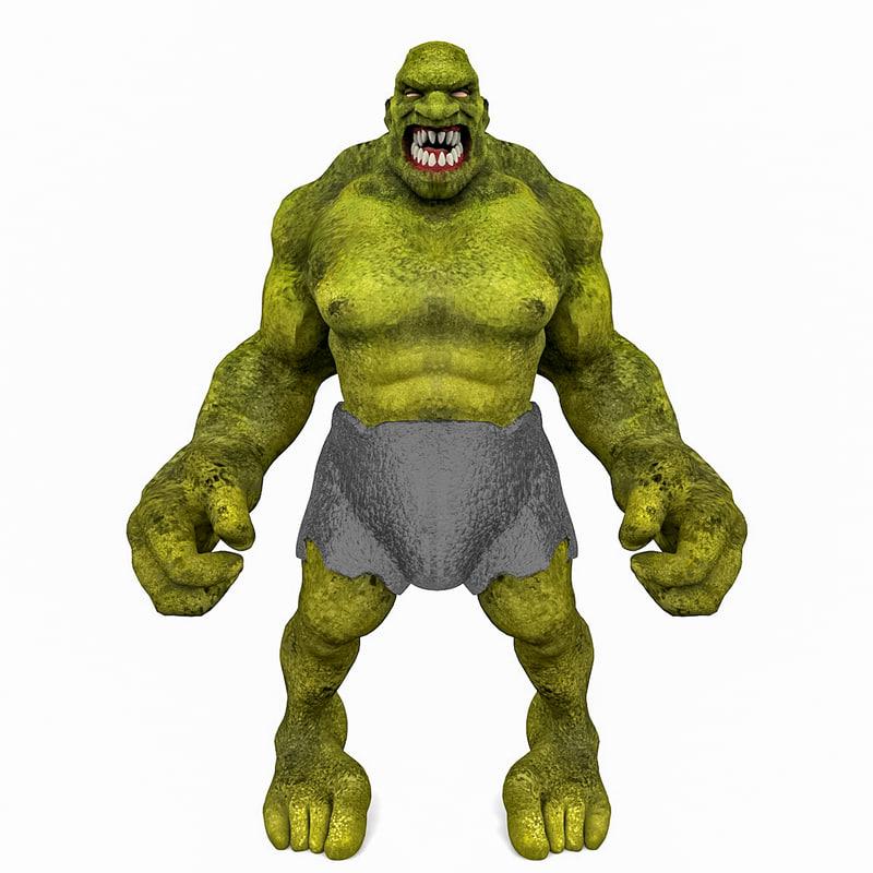 3d troll model