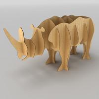 rhino cardboard 3d x