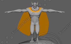 wolf cape 3d ma