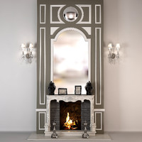 Fireplace English Classic