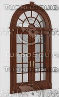 french door 3d max