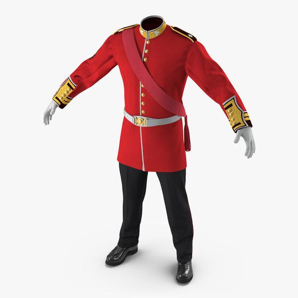 irish guard sergeant uniform max