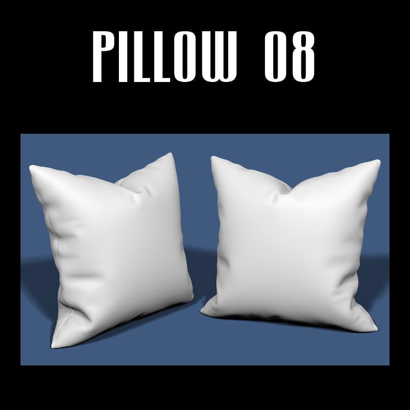 3d obj pillow interior
