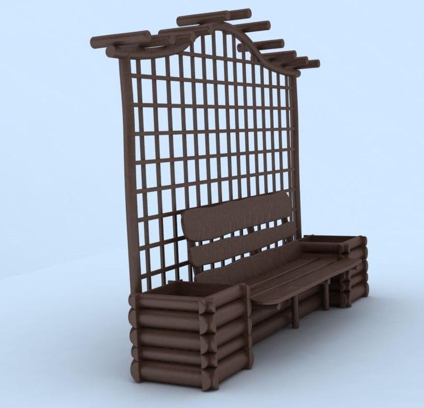 3d arbor model