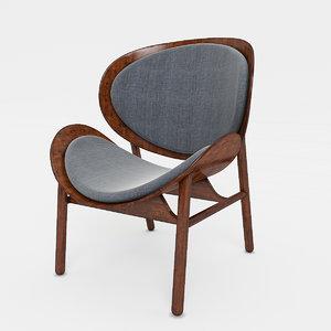 3d max shell chair