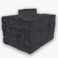 bricks obj