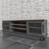 3d long boxcar ellis console model