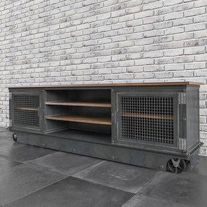 3d long boxcar ellis console model