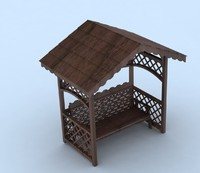 3d model arbor