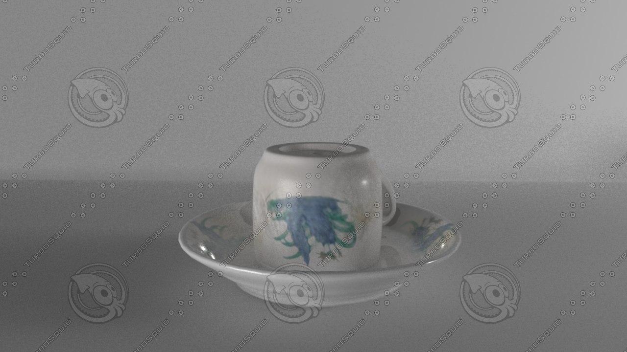 3d cup model